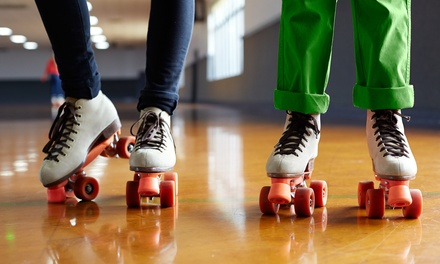 Skate Session with Rental for One, Two, or Four at Stockton Indoor Sports Complex (Up to 50% Off)