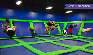 Steel City Jump Park: Two Hours of Trampoline Arena Time at Steel City Jump Park (Up to 50% Off)