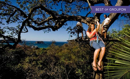8-Day Costa Rica Adventure Tour for Two w/ Hotels from Costa Rica Monkey Tours. Starting at $1,399, $699.50 Per Person.