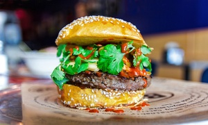 BGR The Burger Joint: $13 for Two Groupons, Each Good for $10 Worth of Food at BGR The Burger Joint ($20 Value)