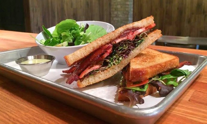 The Flour Shoppe Cafe - Rockville Centre: Cafe Lunch, Dinner and Coffee at The Flour Shoppe Cafe (Up to 41% Off). Two Options Available.