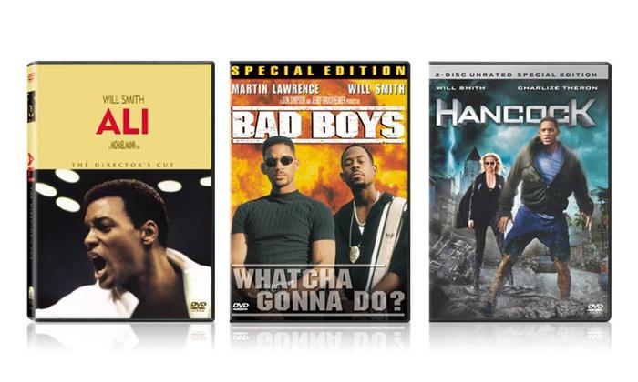 Will Smith 3-DVD Bundle: Will Smith 3-DVD Bundle. Free Returns.
