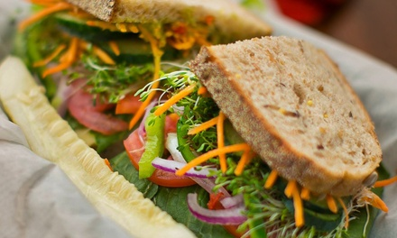 $12 for $20 Worth of Salads, Sandwiches, and Drinks at Sweet Leaf