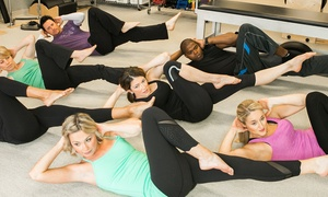 Pilates Mat and Barre Classes