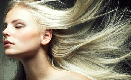 Cut and Conditioning with Optional Single-Process Color or Partial or Full Highlights at S.A.F.E. Salon (Up to 62% Off)
