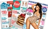 Hearst Magazines: Year Subscription to Cosmo, Oprah, Food Network, HGTV, or Dr. Oz Magazine from Hearst Magazines (Up to 56% Off)