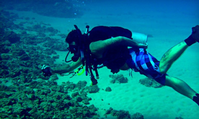 Poseidon's Divers - Mission Beach: $229 for an Open-Water Basic Scuba-Certification Course led by NAUI-Certified Instructors ($500 Value)