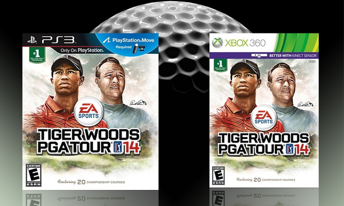 Tiger Woods PGA Tour 14 for PlayStation 3 or Xbox 360: Tiger Woods PGA Tour 14 for PlayStation 3 or Xbox 360. Free Shipping and Returns.