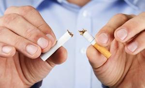 Sesión de hipnosis y acupuntura para dejar de fumar y terapia láser para adelgazar para una o dos personas desde 49,90 €