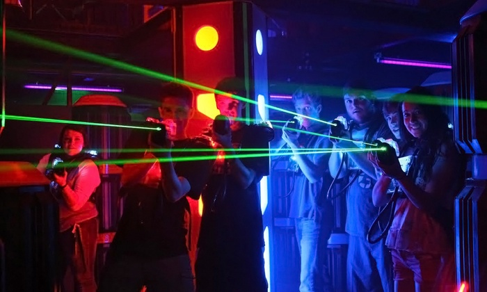 Laser Craze - Multiple Locations: Laser Tag for Two or Four at Laser Craze (Up to 34% Off)