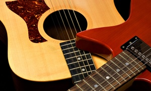 GotChops Music: 5 or 10 Guitar Lessons at GotChops Music (Up to 88% Off)