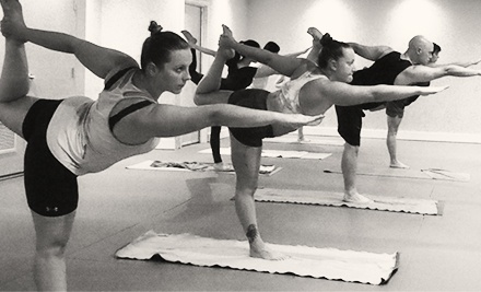 $39.99 for Eight Weeks of Unlimited Hot Yoga Classes at Bheda Yoga ($213 Value)