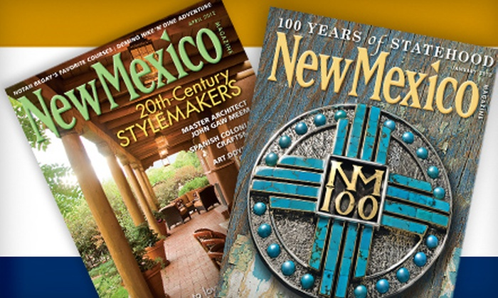 """New Mexico Magazine"": $10 for a One-Year ""New Mexico Magazine"" Subscription ($19.95 Value)"