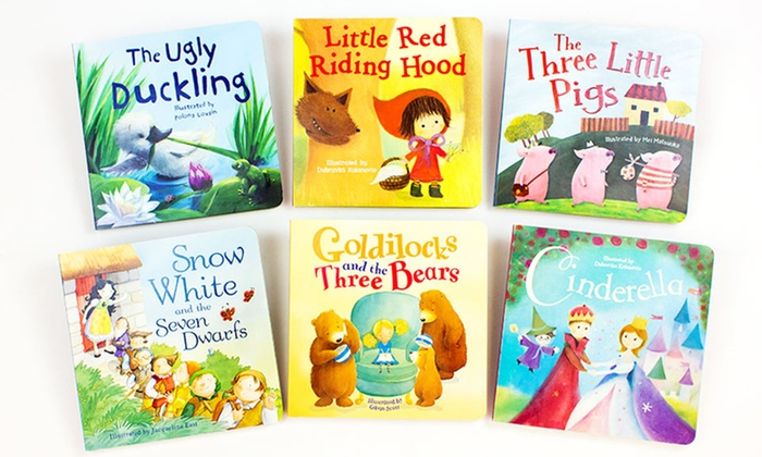 Set of 6 Fairy Tale Board Books: Set of 6 Fairy Tale Board Books