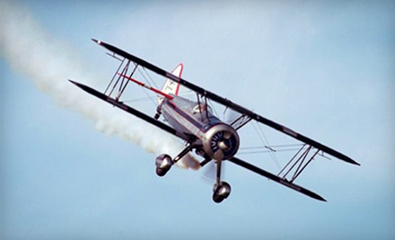 $95 for a Scenic Biplane Ride at Robinson Aerobatics ($190 Value)