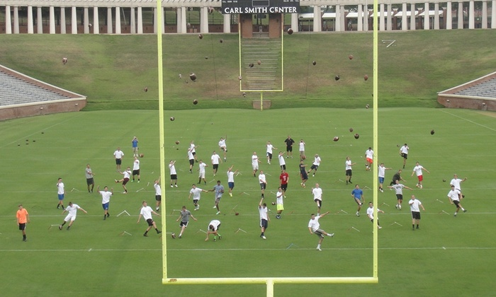 Before U Kick - George Welch Indoor Practice Facility: $280 for $560 Worth of UVA College Kicking & Punting Camp at Before U Kick