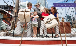 Boston Tea Party Ships Museum: Visit for One, Two, or Four to Boston Tea Party Ships & Museum (Up to 50% Off)