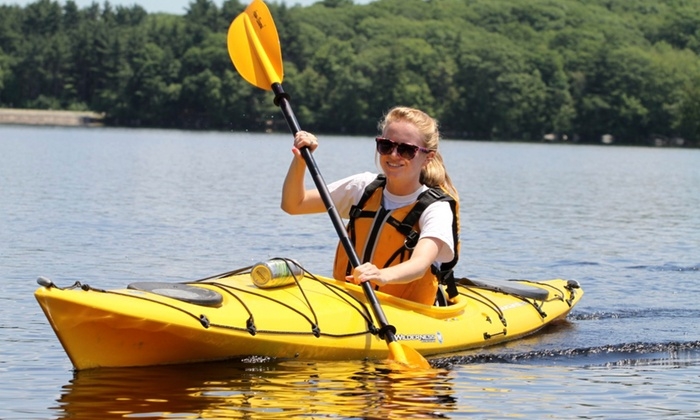 Ballpark Boathouse - Navy Yard: Kayak Rental at Ballpark Boathouse (Up to 50% Off). Three Options Available.