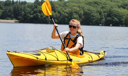Kayak Rental at Ballpark Boathouse (Up to 50% Off). Three Options Available.