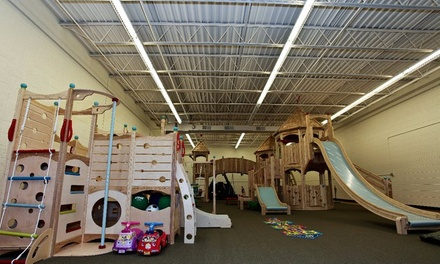 Up to 46% Off open play admission for 2 or 4 at Skedaddles Indoor Playground