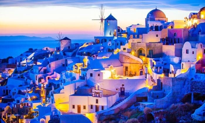 ✈ Santorini: Volo A/R tasse incluse e 7 notti | Groupon Viaggi
