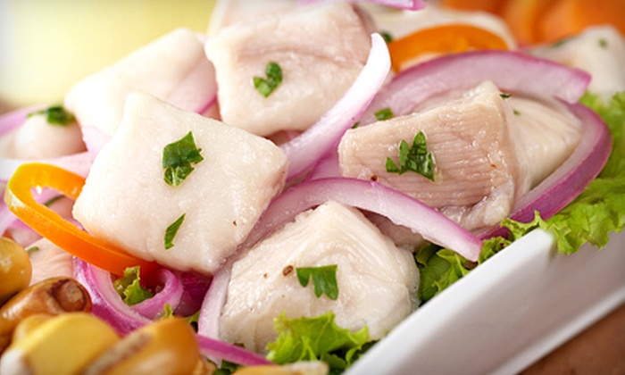 Fusion Lounge & Restaurant - West Orange: $20 for $40 for Peruvian Food and Drinks at Fusion Lounge & Restaurant