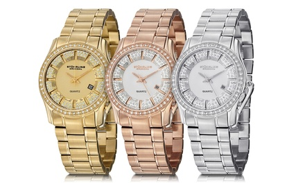 Stuhrling Women's Symphony Crystal Dress Watch