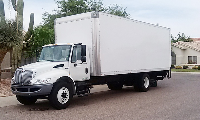 C2 Moving & Packing - Camelback East: $130 for Moving with 26-Foot Truck and Two Crew Members C2 Moving & Packing ($260 Value)