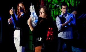 Quarters: Laser-Tag for Two, Four, or Six or Bowling or Laser Tag Party with Food for Up to 10 at Quarters (Up to 50% Off)