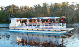 Blue Heron River Tours: Boat Tour for One or Two from Blue Heron River Tours (Up to 52% Off)