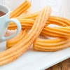 Two Churros With Toppings with Purchase of Any Two Plates