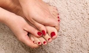 Hair Addicts Hair and Nail Bar- Ericka James: Up to 51% Off Manicures and Pedicures at Hair Addicts Hair and Nail Bar- Ericka James