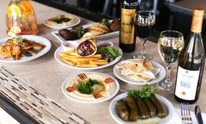 Mediterranean Harbour Bar & Grill: $12 for $20 Worth of Food at Mediterranean Harbour Bar & Grill