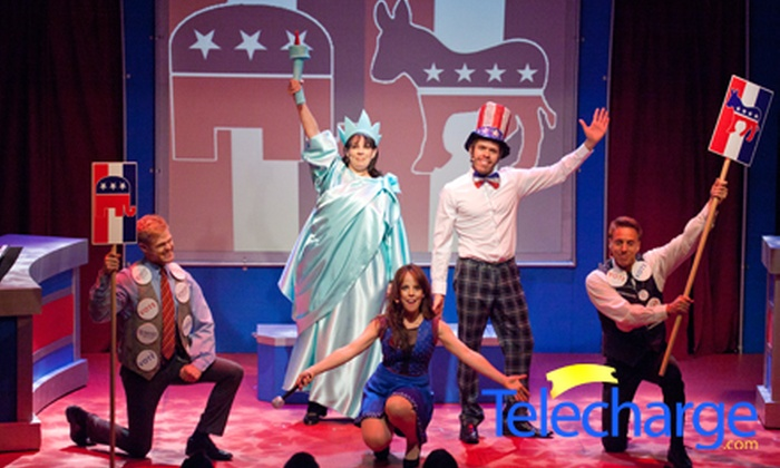 """""""NEWSical the Musical"""" - Theatre Row - The Kirk Theatre: NEWSical the Musical at Theatre Row - The Kirk Theatre (Up to Half Off). 40 Showtimes Available."""