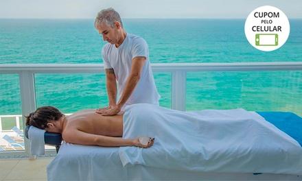 Day spa com 4 tratamentos + piscina e academia para 1, 2 ou 4 pessoas no Casa & Mar Wellness Hotel and Spa – Maricá