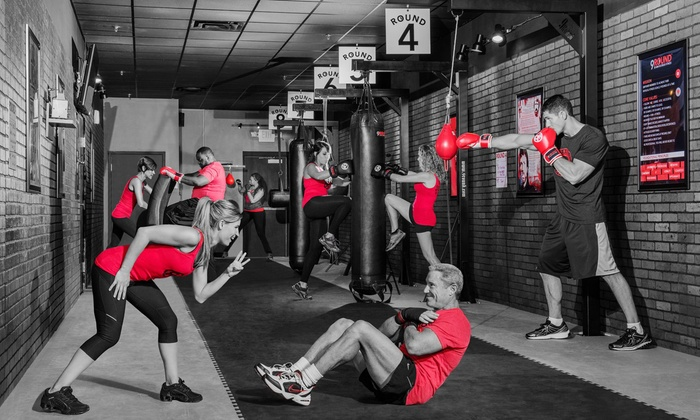 9Round Fitness Highland Village - Highland Village: One Month of Unlimited Fitness Classes at 9Round Fitness Highland Village (Up to 43% Off)