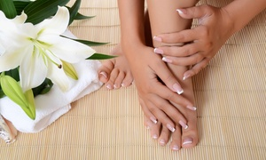 Forever Mobile Nail Spa: A Spa Manicure and Pedicure from Forever Beautiful Mobile Spa (40% Off)