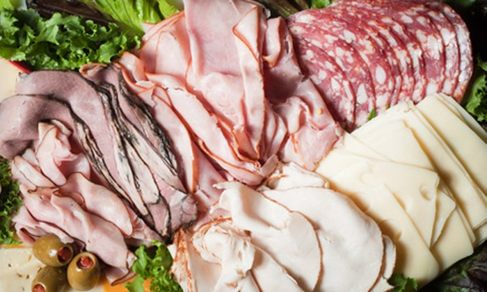 All About Taste, Inc - Plymouth - Wayzata: $40 for Two Assorted Sandwich-Meat Trays from All About Taste, Inc ($110 Value)