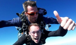 Skydive Space Center: 12,000-Foot Skydiving Package for One or Two at Skydive Space Center  (Up to 68% Off)