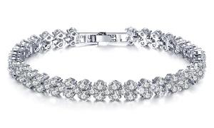 (Bijou)  Bracelet pour femme avec cristaux -89% réduction