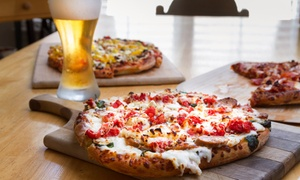 Tropics Tap House: Craft Beer and Pizza Package for Two or Four at Tropics Tap House (Up to 48% Off)