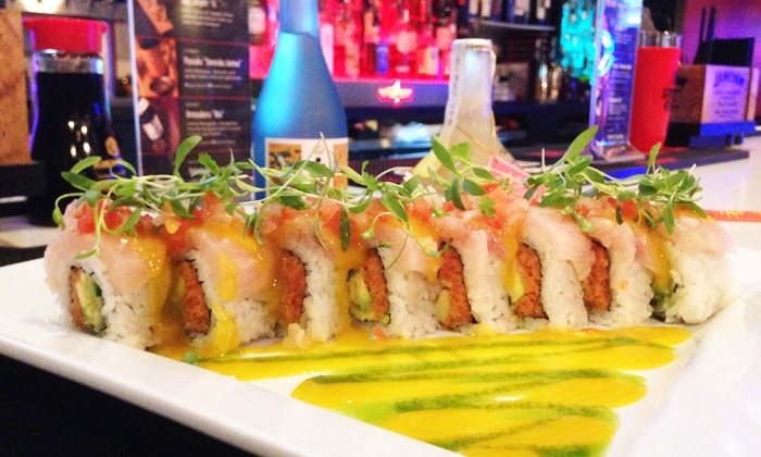 Lava Sushi - Hillcrest: Sushi and Noodles at Lava Sushi (Up to 43% Off). Two Options Available.