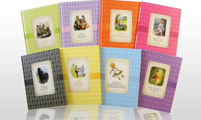 8 Hardcover Books of Classic Girls' Fiction: 8 Hardcover Books of Classic Girls' Fiction.Free Shipping.