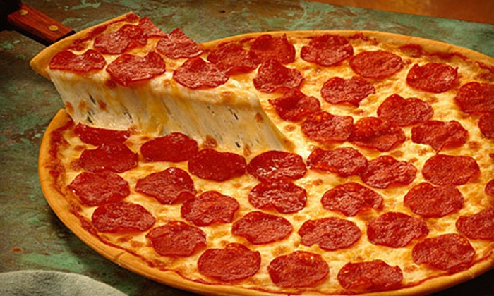 Mancino's Pizza & Grinders - Noblesville: $14 for a 16-Inch Specialty Pizza, Breadsticks, and Fountain Drinks for Two at Mancino's Pizza & Grinders ($27.96 Value)