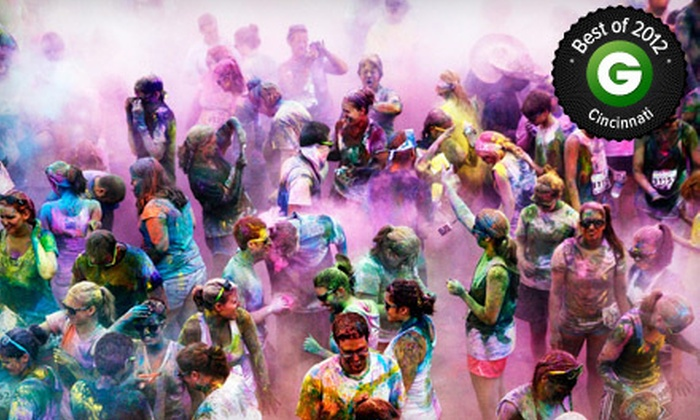 Color Me Rad - Cincinnati: $19.99 for the Color Me Rad 5K Run on Saturday, July 20, at Kings Island (Up to $40 Value)