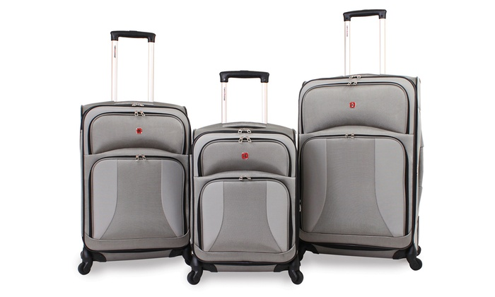 Wenger SwissGear Luggage Set | Groupon Goods