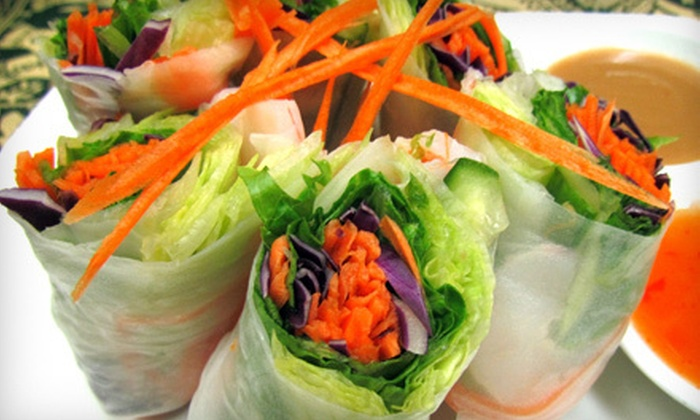 Freshly Thai - Downtown Brampton: $15 for $30 Worth of Thai Cuisine and Drinks at Freshly Thai