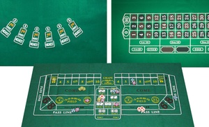 Casino game felt layouts groupon goods for 12 in 1 game table groupon