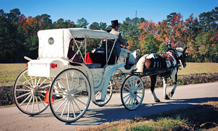 Chariots for Hire - Holy Neck: $89 for a Countryside Carriage Ride for Two with Light Picnic Dinner from Chariots for Hire in Suffolk ($180 Value)