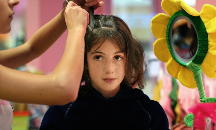 Beauty Garden - Ronkonkoma: Kids' Haircut and Blowout with Option for Two Color Streaks or Color-Dipped Ends at Beauty Garden (Up to 63% Off)